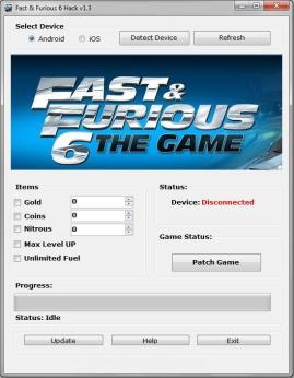 Fast and Furious 6 Hack